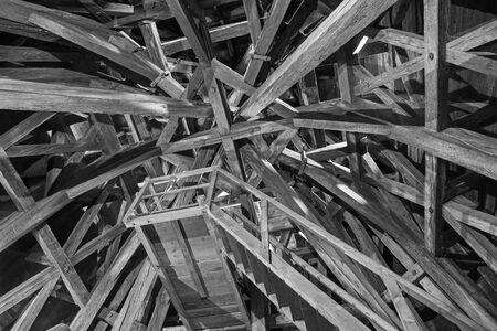 rafters: Bratislava - The framework form st. Martins cathedral