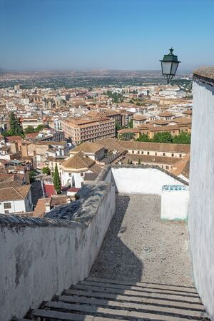 outlook: Granada - The outlook over the town.