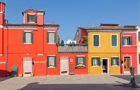 case colorate: Venezia - Case colorate di Burano