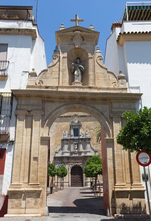 portals: Cordoba - The portals of St. Francis and Eulogius church.