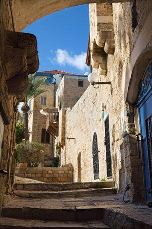 jafo: Te Aviv - Little aisle of old Jaffa Editorial