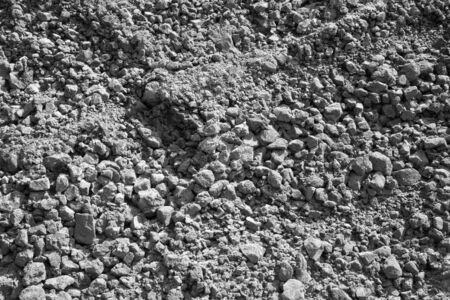 layers: Santorini - Red gray pumice layers background