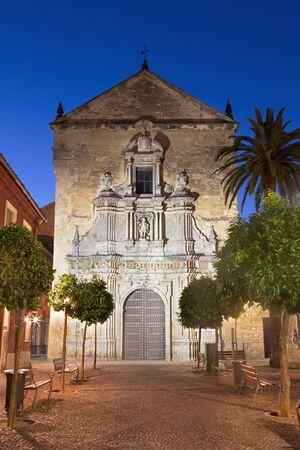 francis: Cordoba - The church of St. Francis and Eulogius at dusk.
