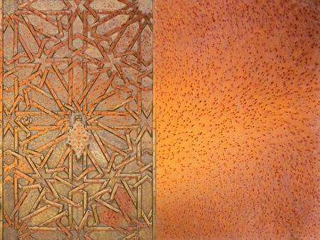 moorish: Abstract moorish background - mudejar gate