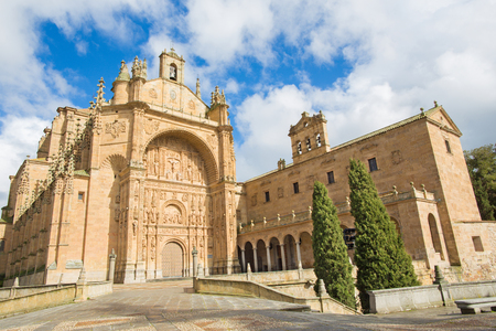 convento: Salamanca - The Convento de San Esteban Stock Photo