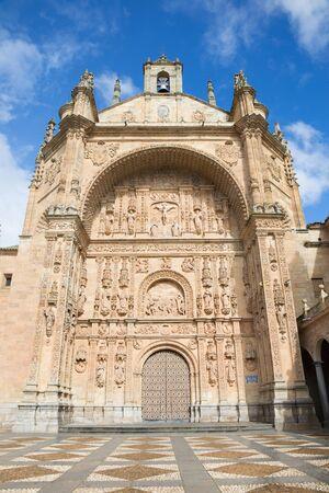 convento: Salamanca - The portal of Convento de San Esteban