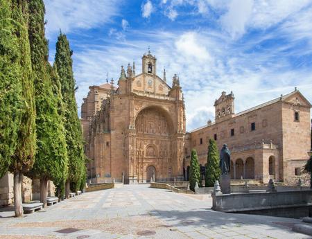 convento: Salamanca - The Convento de San Esteban Stock Photo