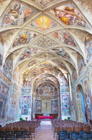 chiesa: BRESCIA, ITALY - MAY 21, 2016: The church Chiesa del Santissimo Corpo di Cristo. Editorial