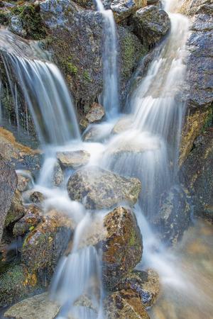 High Tatras - The waterfalls over the Morskie Oko lake