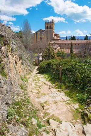 Segovia - The monastery Monasterio de Santa Maria del Parral