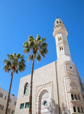 BETHLEHEM, ISRAEL - MARCH 6, 2015: The Mosque of Omar Editorial