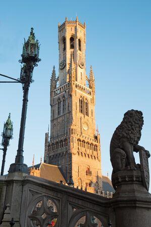 Bruges - The tower of Belfort van Brugge.