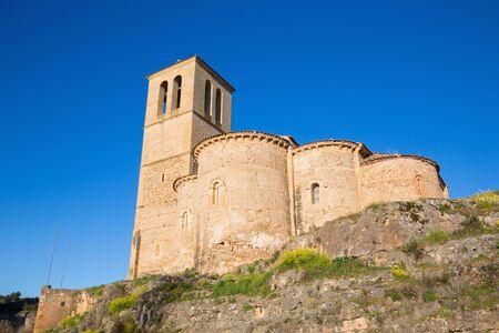 Segovia - The romanesque church Iglesia de la Vera Cruz