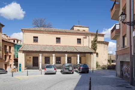 millan: Segovia - The Romanesque church Iglesia de San Nicolas
