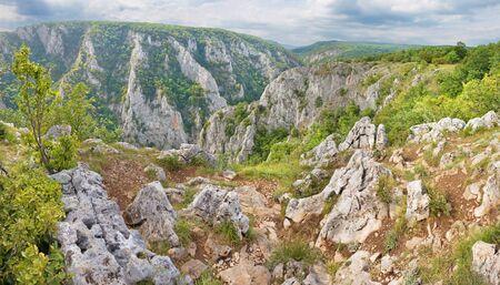 Slovakia - Zadielska valley in national park Slovensky Kras.