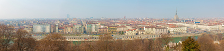 Turin - The skyline of the city.