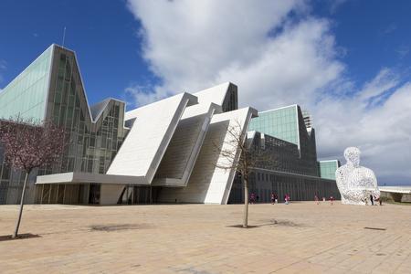 Saragosse - Le Palais des Congrès - Palacio de Congresos