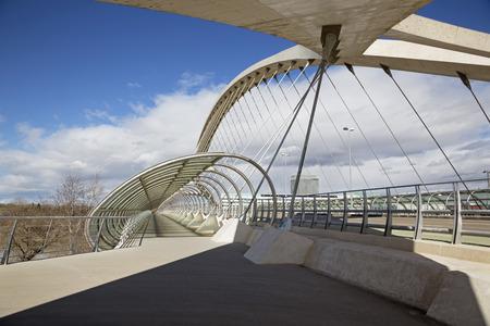 Zaragoza - The Third Millennium Bridge - Puente del Tercer Milenio.