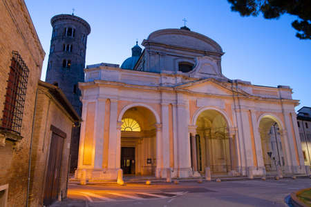 Ravenna - The Duomo (cathedral a t the dusk.