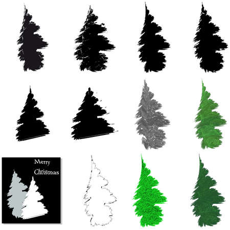 hollidays: Christmas trees