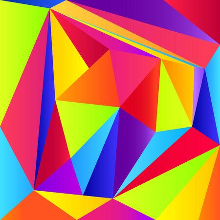 lila: Triangular background
