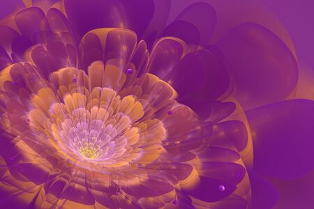 3d flower: This is 3D flower fractal, that look very interesting