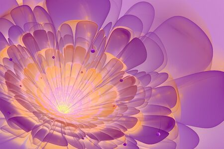3d flower: This is 3D flower fractal, that look very interesting on white background.