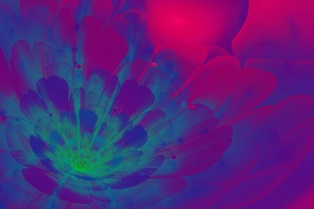 interesting: This is 3D flower fractal, that looks very interesting.