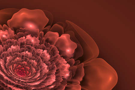 3d flower: This is 3D flower fractal, that looks very interesting on pink background.