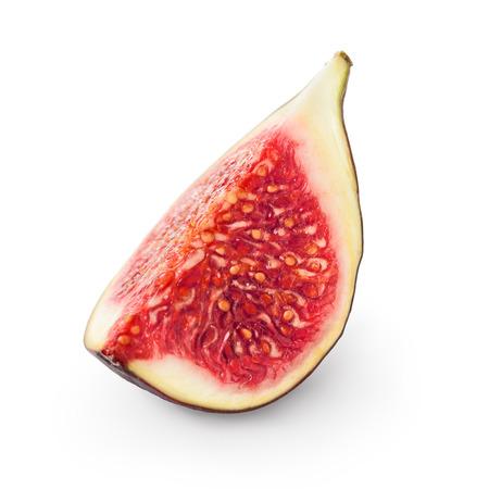 purple fig: Fresh fig