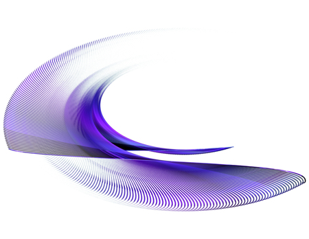 modulations: Abstract fractal image background with purple curved lines , wave rotation. Graphic element for design