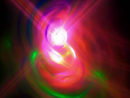 light source: Abstract fractal image background with light colored energy. Light source
