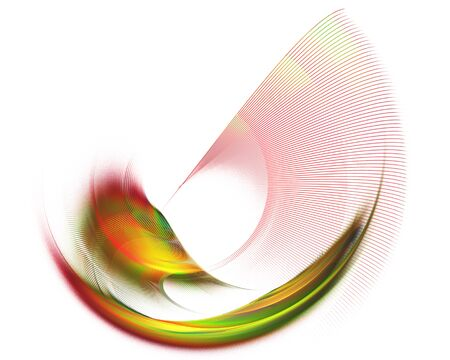 modulations: Abstract textured image graphic element for design , stroke , rotating on a white background