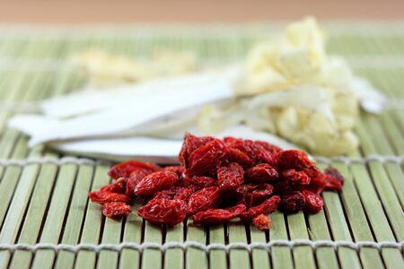 goji berry: goji berry and chinese spices