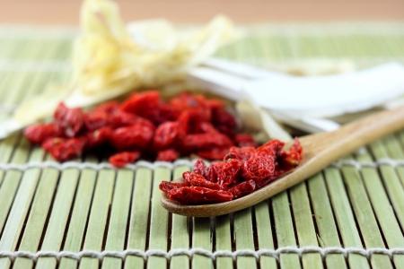 goji: goji berry and chinese spices