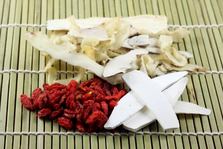 chinese yam: chinese spices