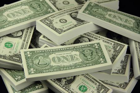 hegemony: Dollar moneys Stock Photo