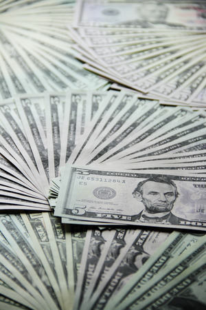 zionism: Dollar moneys Stock Photo