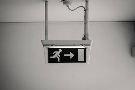 Emergency Exit Door Sign Board