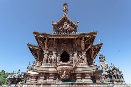 Sanctuary of Truth, Pattaya photo