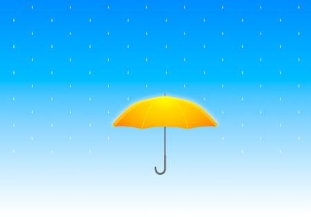hard rain: Hard Rain Illustration