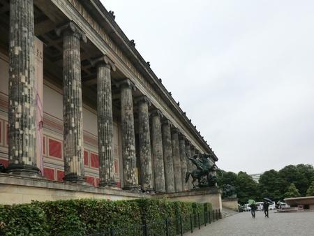 Pflanzen: Berlin 2011 - Museumsinsel - Altes Museum Stock Photo