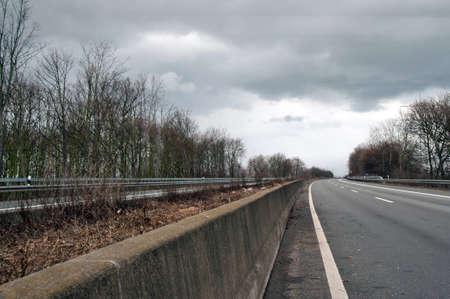 tempest: closed motorway A57