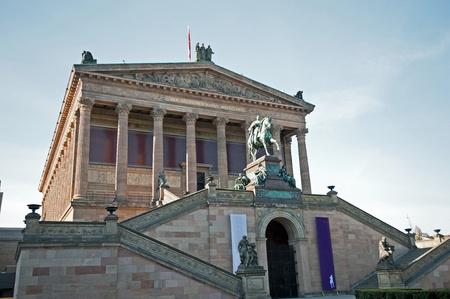 Berlin Museum Island - Old National Gallery