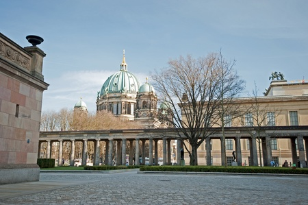 Berlin Museum Island from the old National Gallery