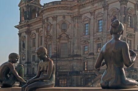Berlin - Sculptures on the Spree
