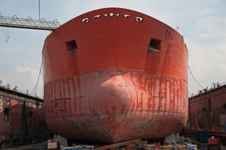 Port of Hamburg 2012 - ship in dry dock