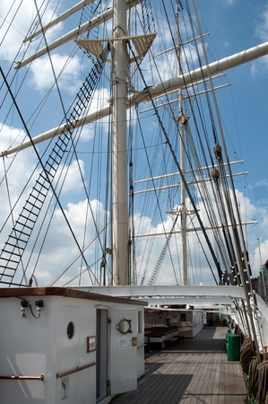 Port of Hamburg 2012 - On the deck of a tall ship