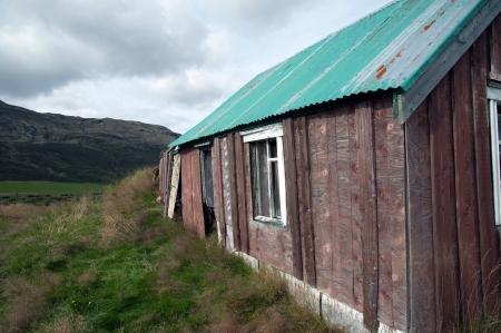 uninhabited: The southern Iceland, old uninhabited Hofruine Geysir area, Hakadalur, in the Golden Circle