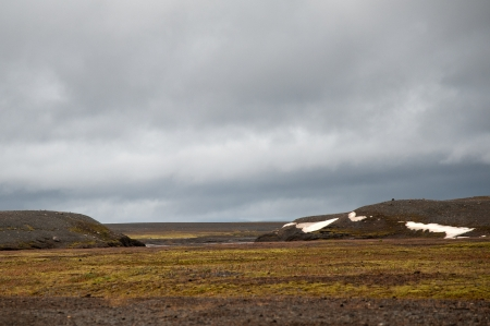 infamous: On one of the famous and infamous highland routes, the Sprengisandur in Iceland